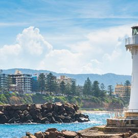 Wollongong coastline, New South Wales.