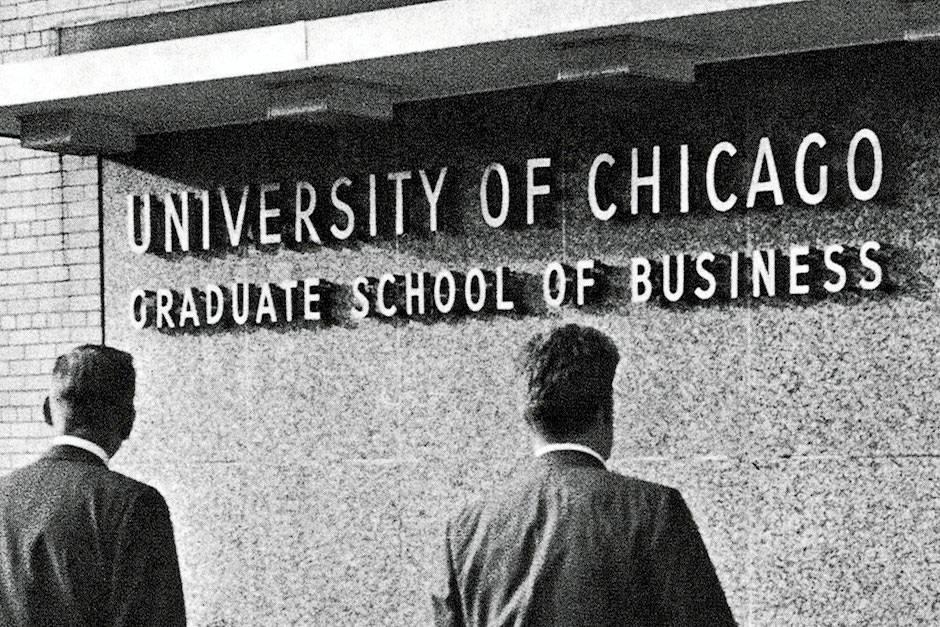 University of Chicago Booth School of Business in the1940s